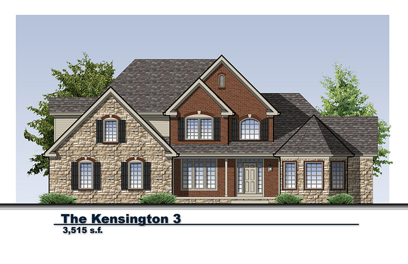 Residential Architectural Renderings for Home Builders Akron